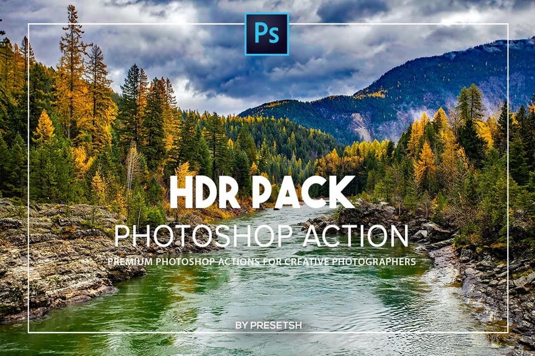 HDR Landscape Photoshop Actions
