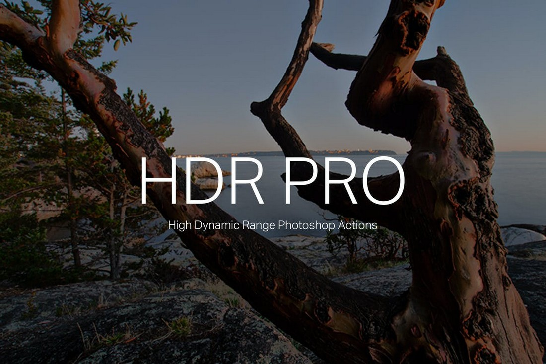 HDR Pro Photoshop Actions for Photographers