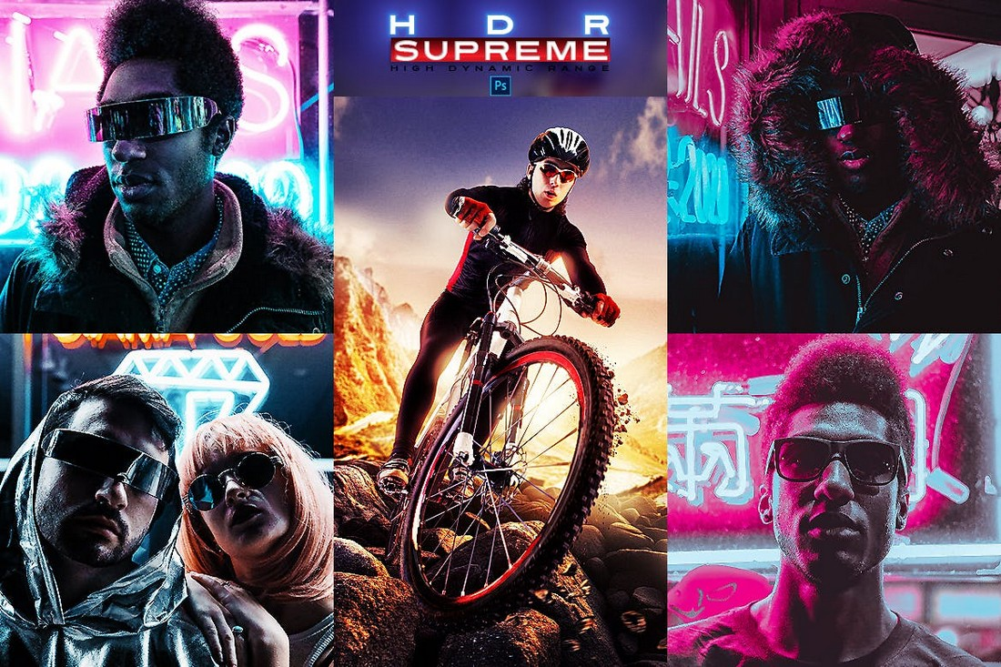 HDR Supreme Photoshop Actions