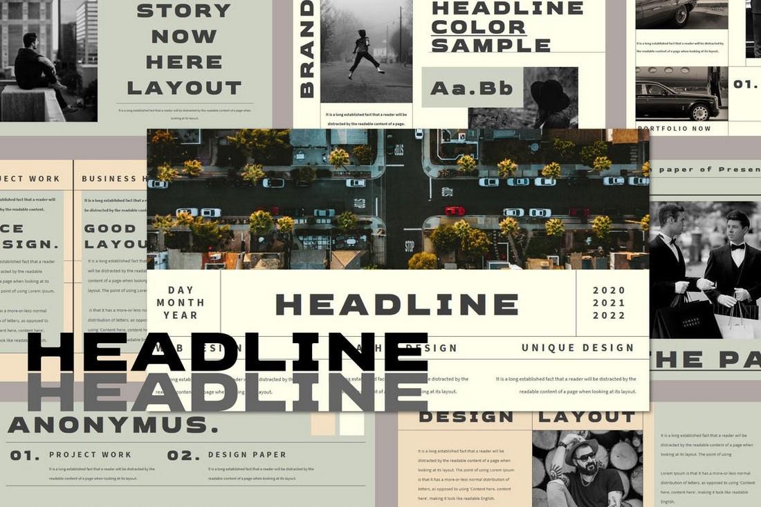 HEADLINE - Creative Powerpoint Template