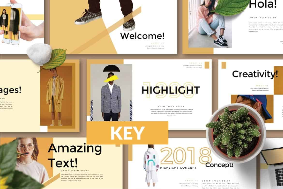 HIGHLIGHT-Modern-Keynote-Template 50+ Best Keynote Templates of 2021 design tips