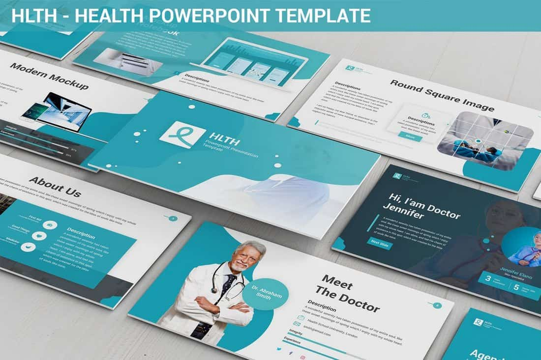 HLTH - Health Powerpoint Template