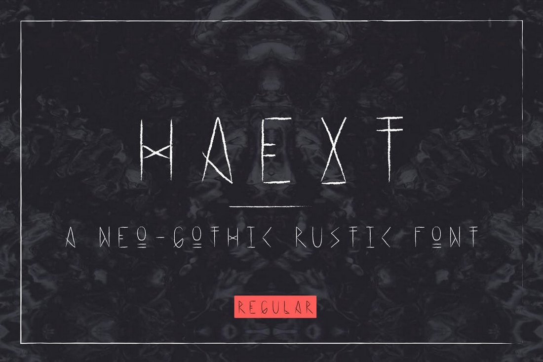 Haext-Regular-Neo-Gothic-Font 20+ Best Gothic Fonts design tips