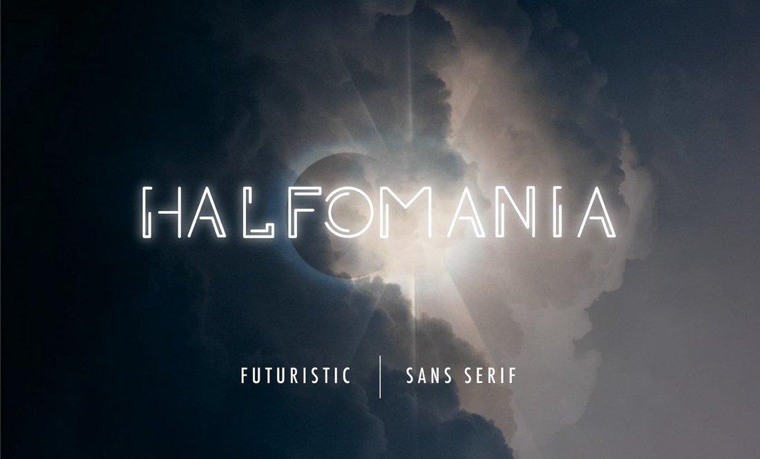 Halfomania - Polices Sans-Serif gratuites