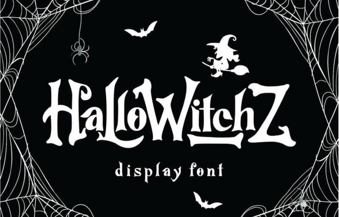 HalloWitchZ - Free Decorative Display Font
