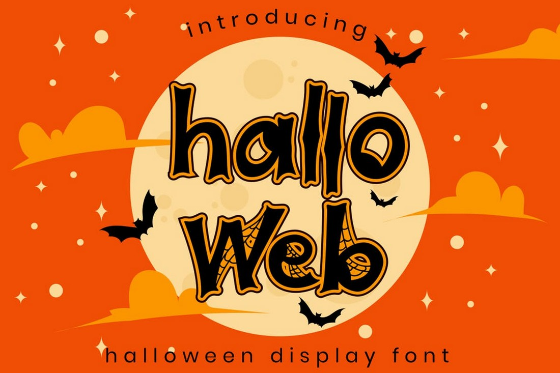 Halloweb - Decorative Halloween Font