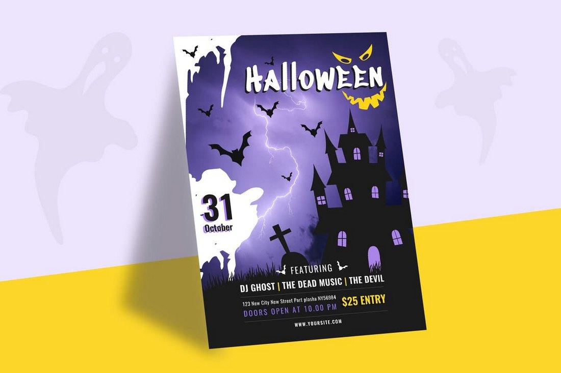 Halloween-Celebrations-Party-Flyer 20+ Halloween Flyer Templates design tips