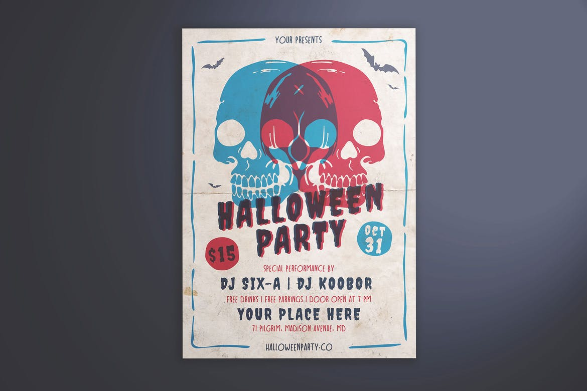 Halloween-Party-Flyer-Template-1 30+ Best Event Flyer Templates design tips