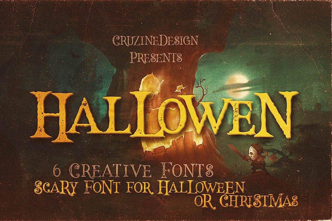Hallowen - Creative Halloween Fonts