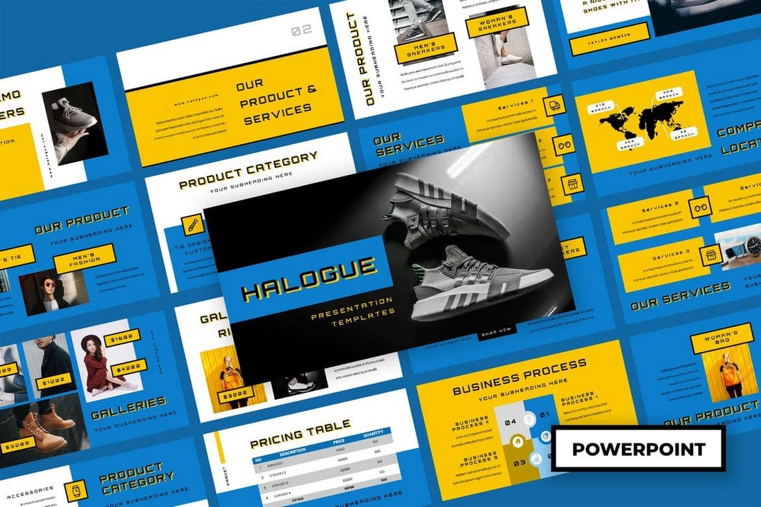 Halogue - Creative Powerpoint Presentation