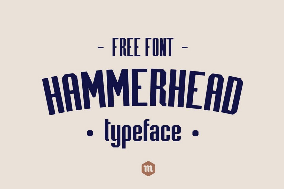 Hammerhead-Typeface 40+ Best Condensed & Narrow Fonts of 2019 design tips