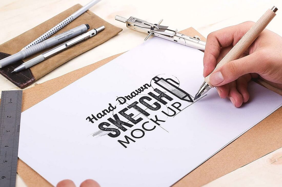 100+ Logo PSD U0026 Vector Mockup Templates | Design Shack