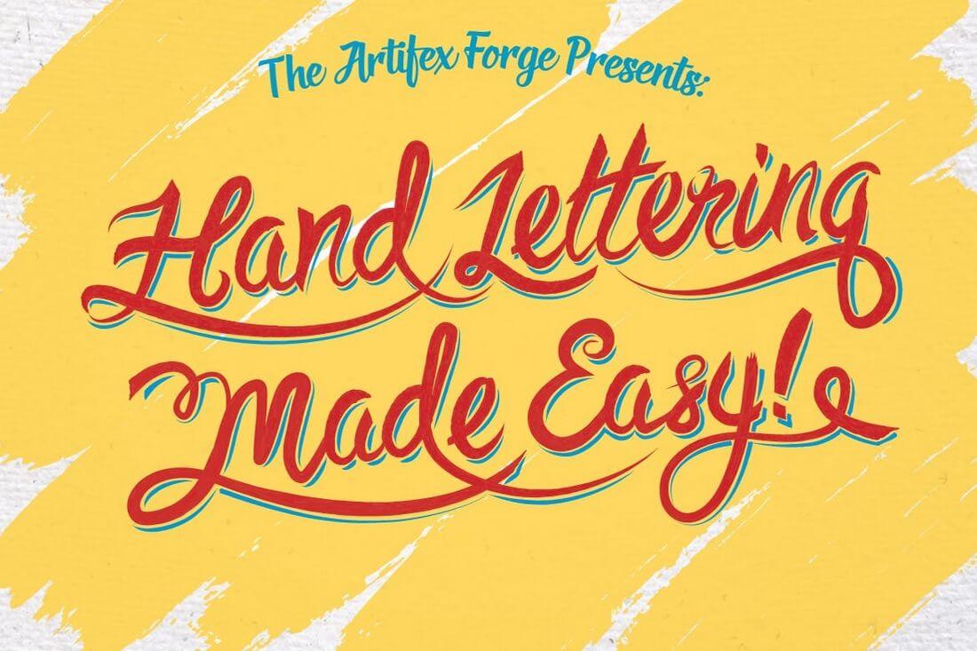 Hand-Lettering-Brushes 30+ Best High-Quality Photoshop & Illustrator Brushes design tips