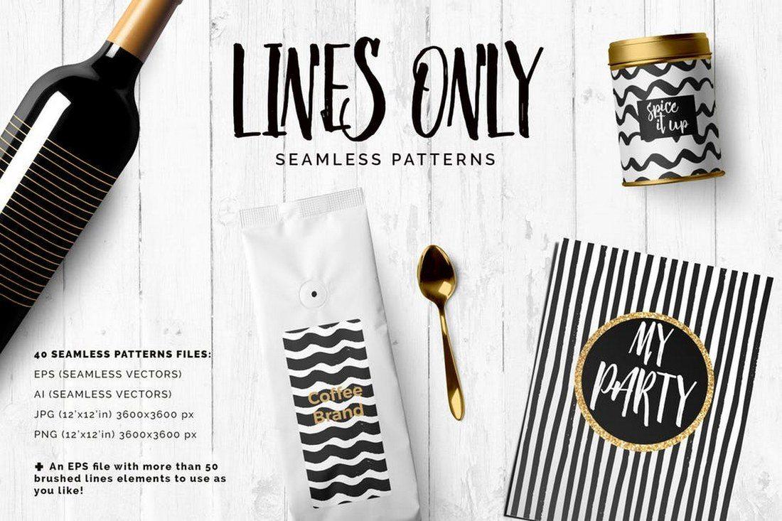 30+ Best Line Patterns & Textures 4