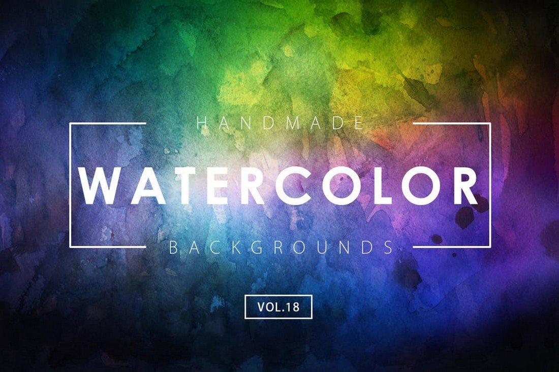 Handmade-Watercolor-Backgrounds 30+ Best Watercolor Background Textures design tips