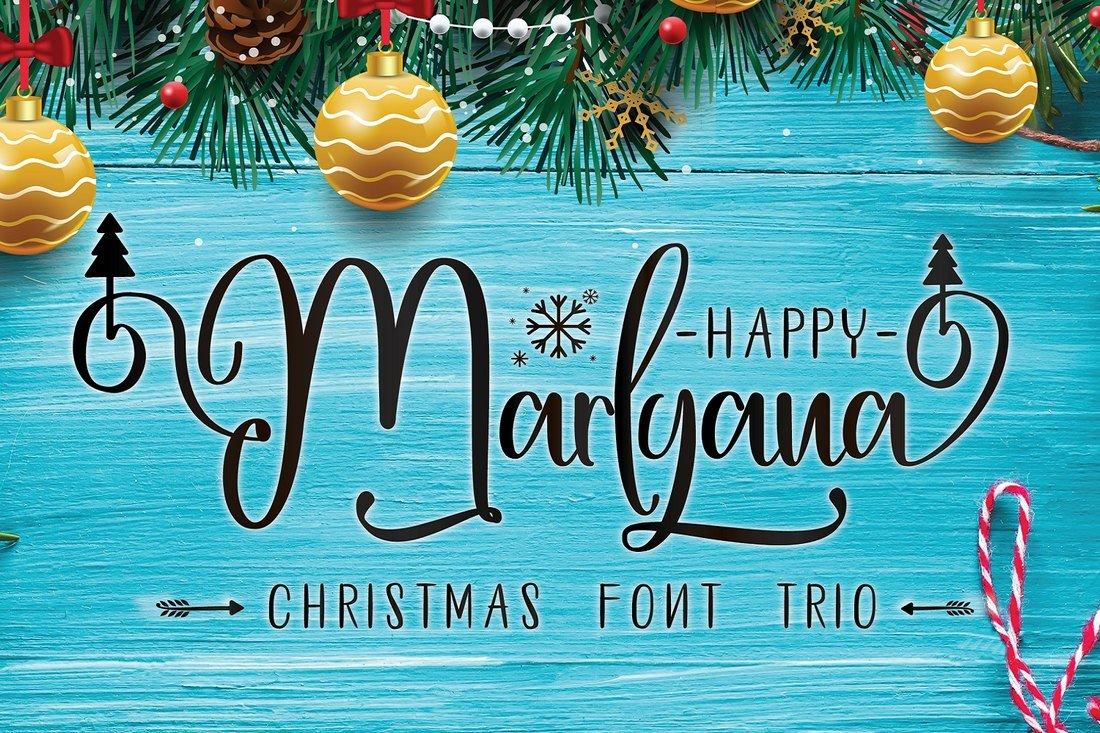 Happy Marlyana - Free Script Font
