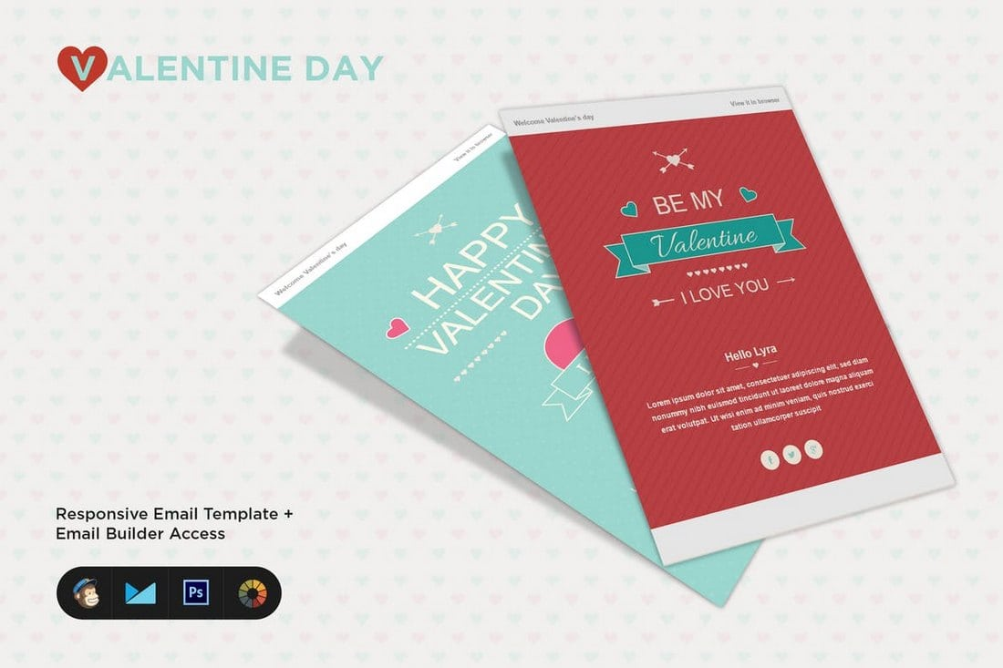 Happy-Valentine-Wishes-Email-Template 25+ Modern Responsive Email Templates design tips