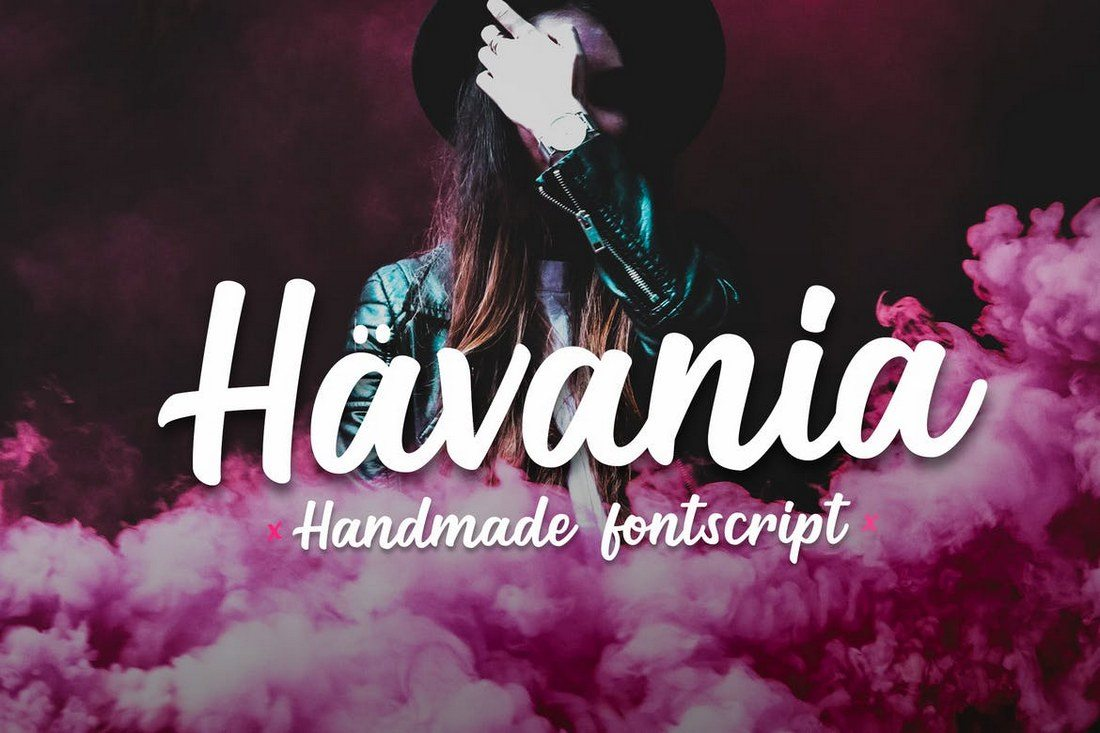 Havania-Font-Script 30+ Best Fonts for Logo Design design tips