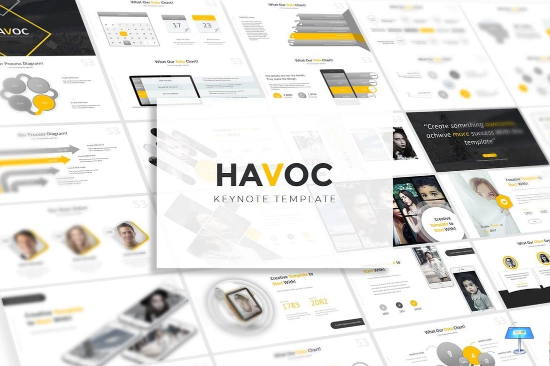 Havoc-Creative-Keynote-Template 30+ Best Keynote Templates of 2018 design tips