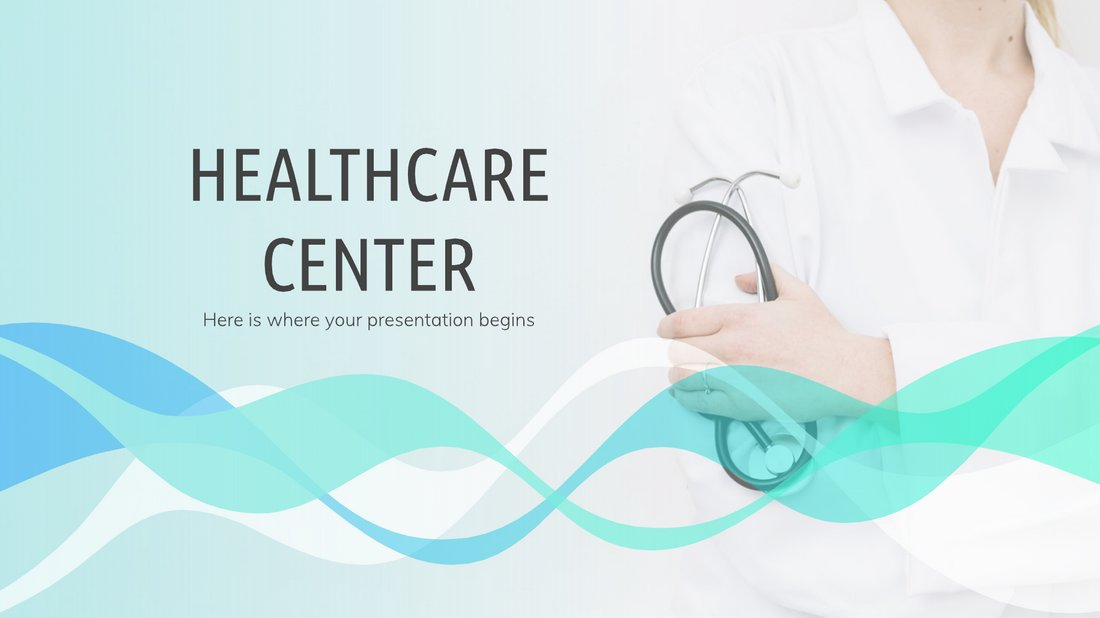 Healthcare Center - Free Medical PowerPoint Template