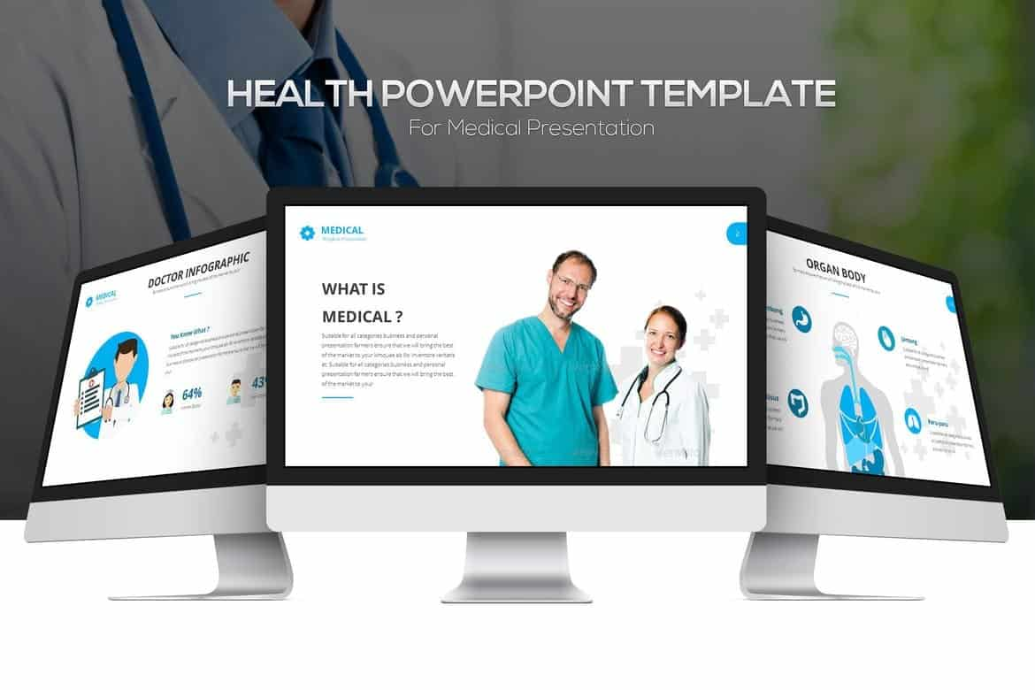 Healthcare & Medicine Powerpoint Template