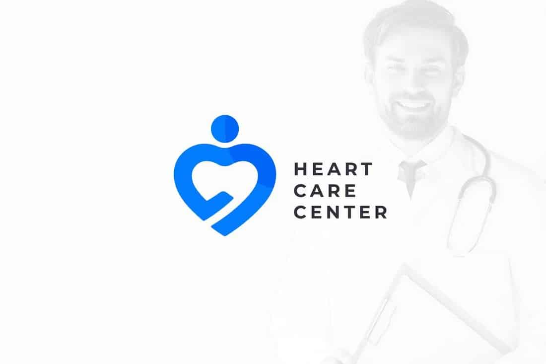 Heart & Health Care – Medical Logo Template