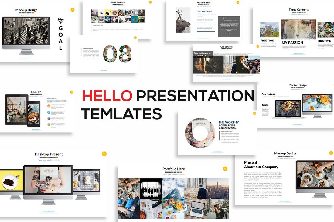 Hello-Animated-Powerpoint-Presentation 30+ Animated PowerPoint Templates (Free + Premium) design tips