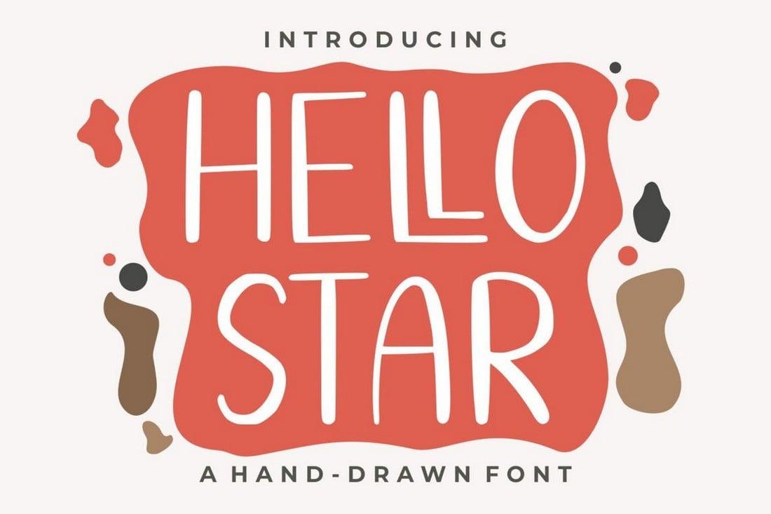 Hello Star - Fun & Quirky Font