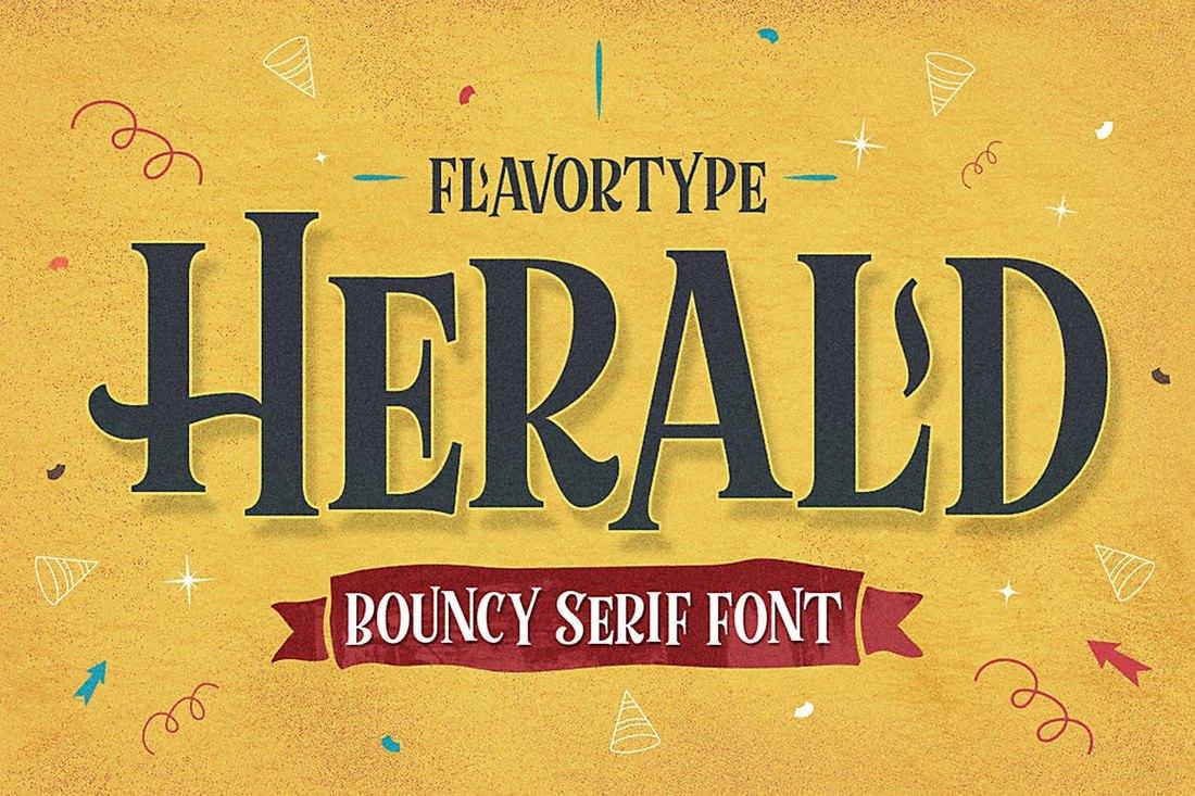 Herald-Halloween-Font 20+ Best Spooky Halloween Fonts design tips
