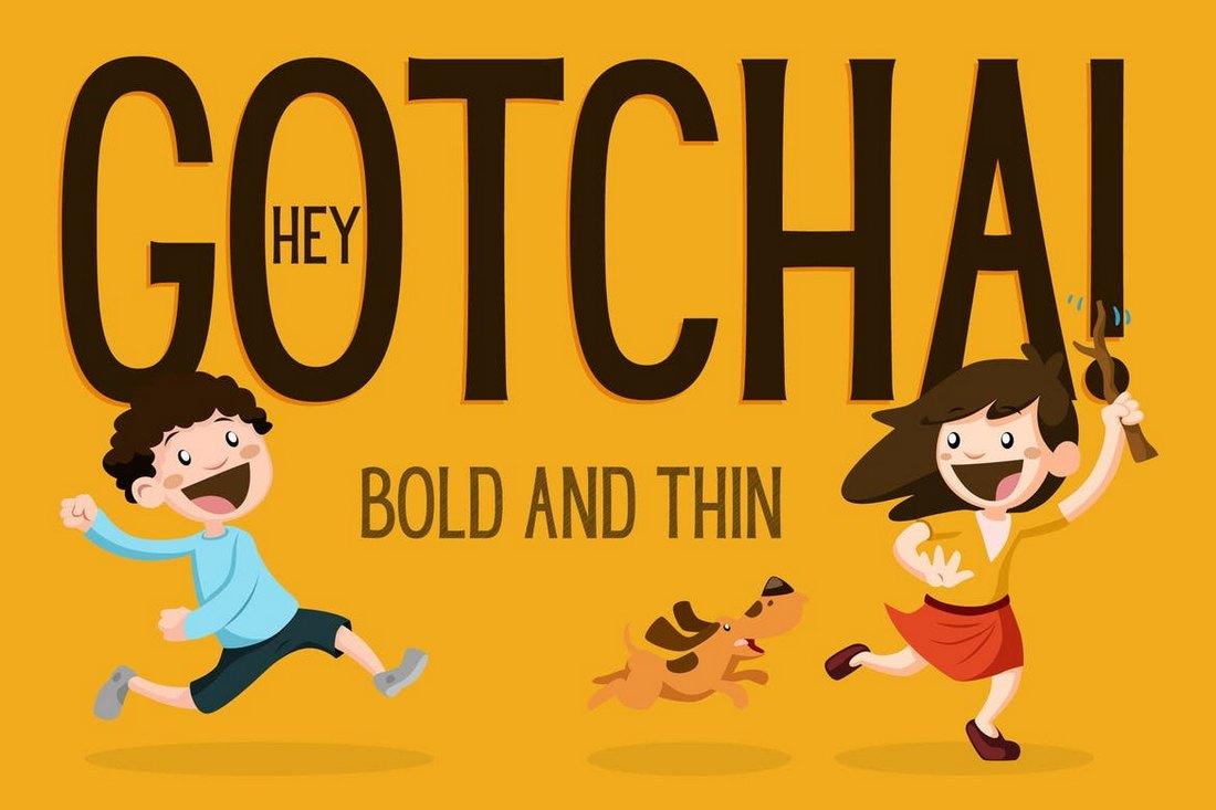 Hey-Gotcha-Poster-Font 60+ Best Big, Poster Fonts of 2019 design tips