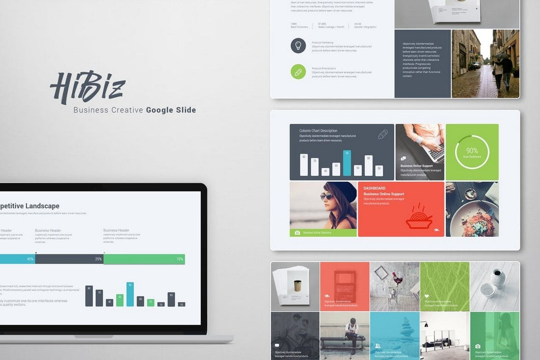 HiBiz-Google-Slide-Template 35+ Best Google Slides Themes & Templates 2019 design tips