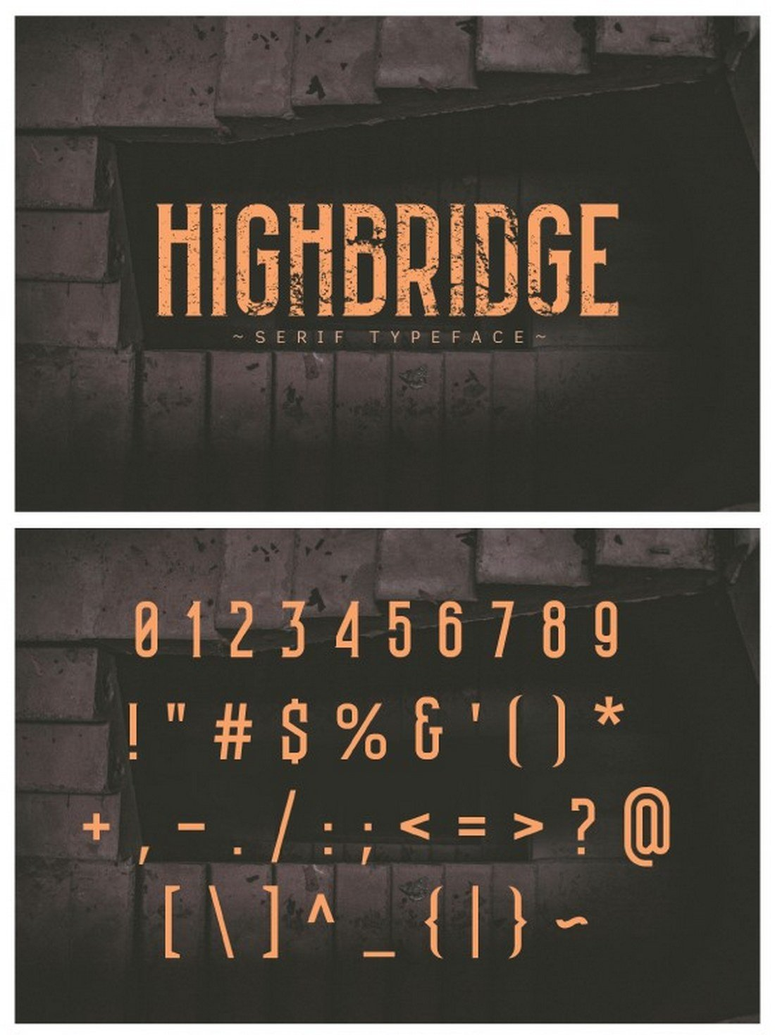 Highbridge-Typeface 40+ Best Number Fonts for Displaying Numbers design tips