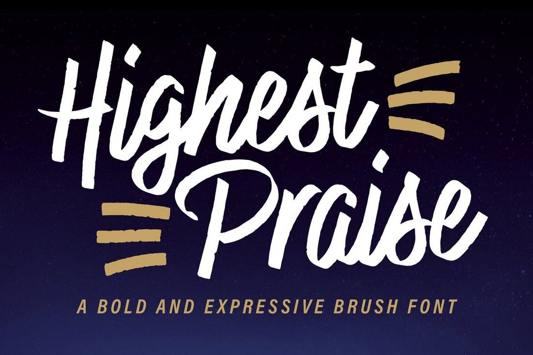 Highest-Praise-Font 40+ Best Condensed & Narrow Fonts of 2019 design tips
