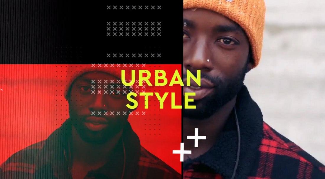 Hip-Hop Urban Opener Premiere Pro Template