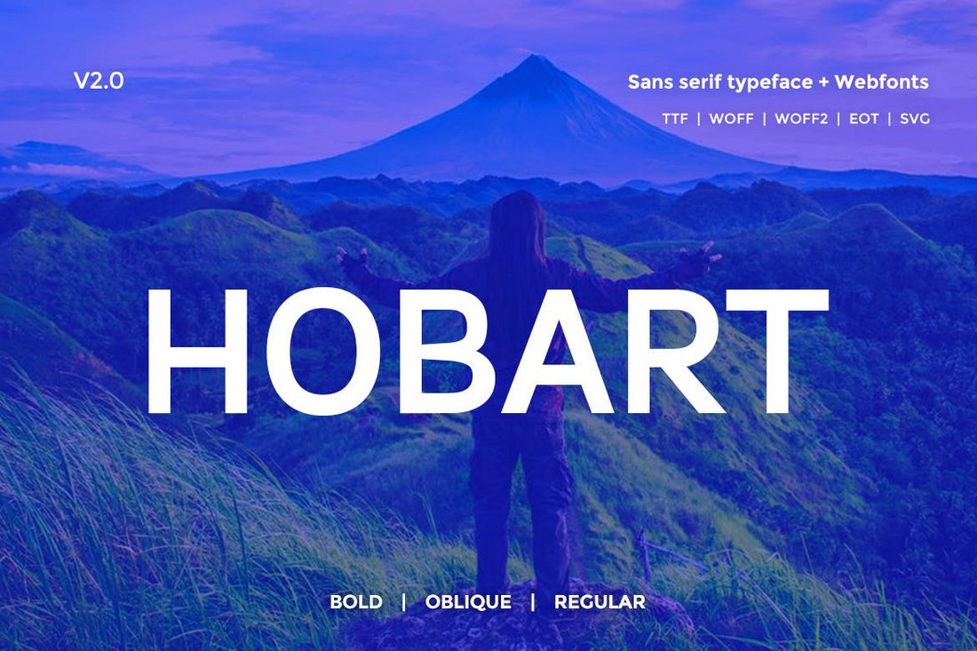 Hobart-Minimal-Typeface 20+ Best Fonts for PowerPoint Presentations design tips