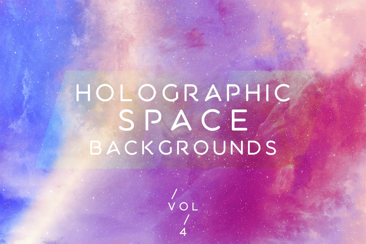 Holographic Space Backgrounds