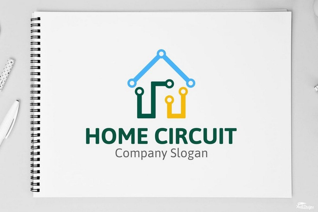 Home-Circuit-Affinity-Designer-Logo-Template 20+ Best Affinity Designer Templates & Assets 2020 design tips  Inspiration