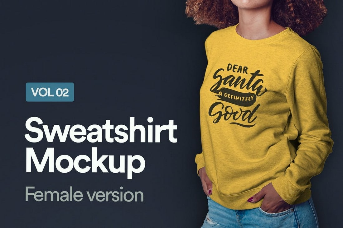 Hoodie-and-Sweatshirt-Mockups 20+ Hoodie Mockup Templates (Free & Premium) design tips  Inspiration