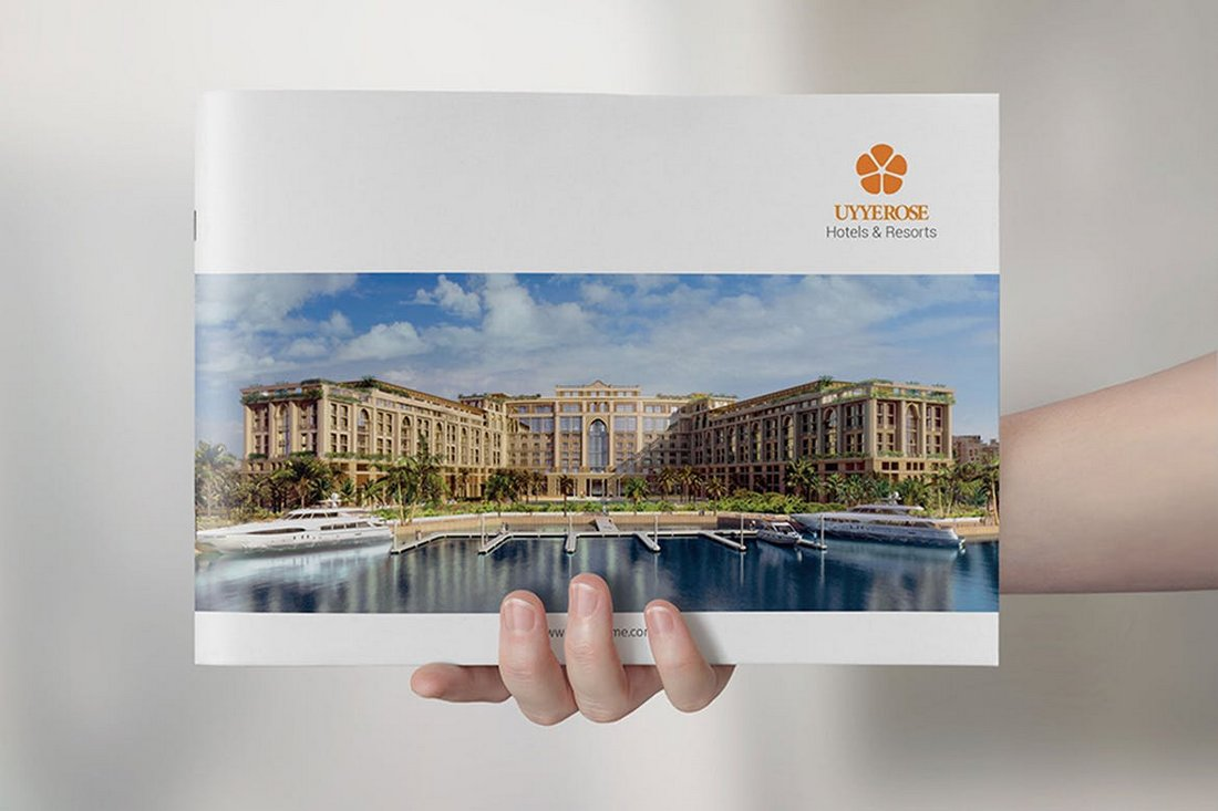Hotel & Corporate Brochure Template
