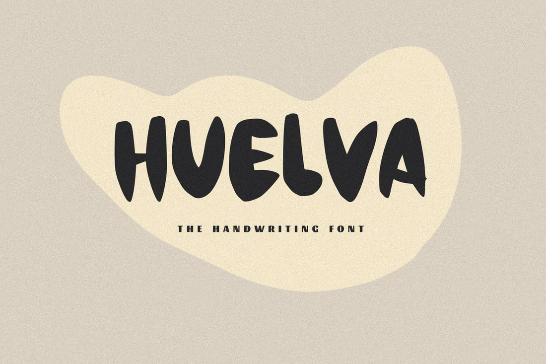 Huelva-Handwriting-Display-Font 30+ Best Fonts for Posters design tips