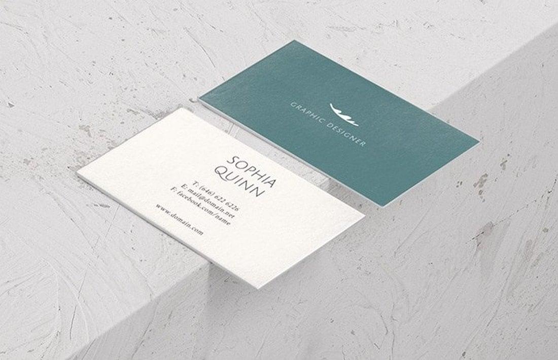 Hugo - Free Business Card Templates