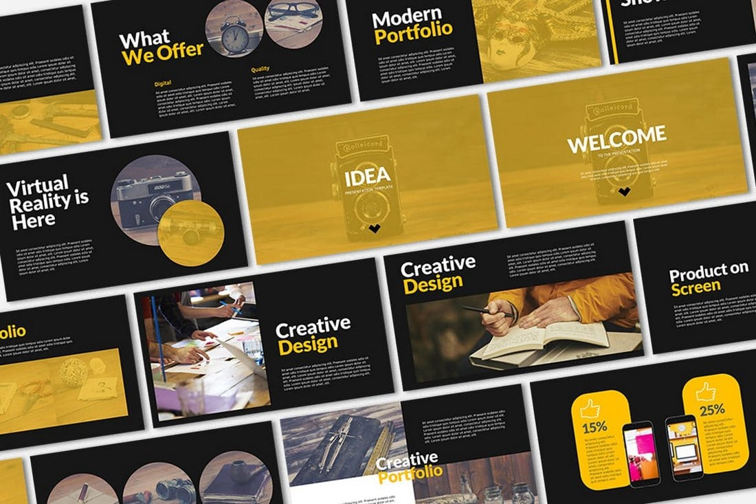 IDEA-Business-Presentation-Template 30+ Best Business & Corporate PowerPoint Templates 2021 design tips