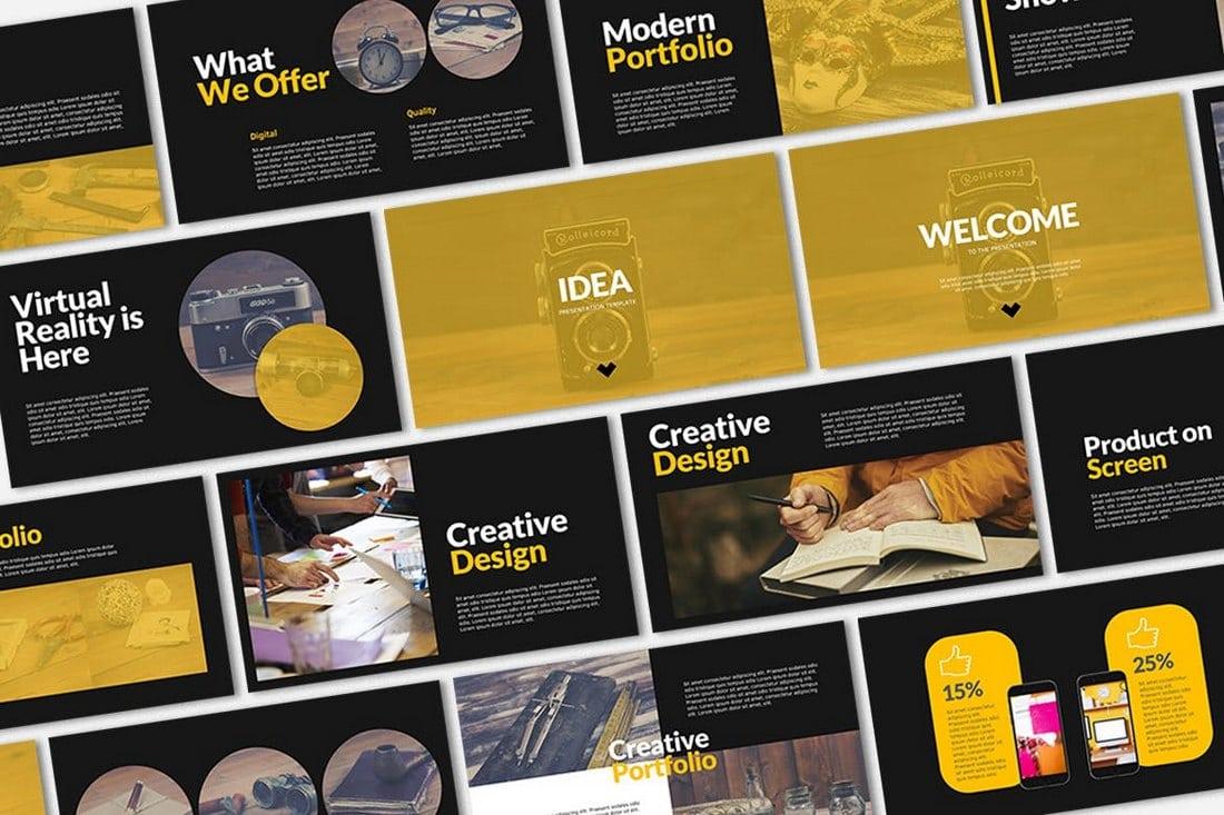 IDEA - Business Presentation Template
