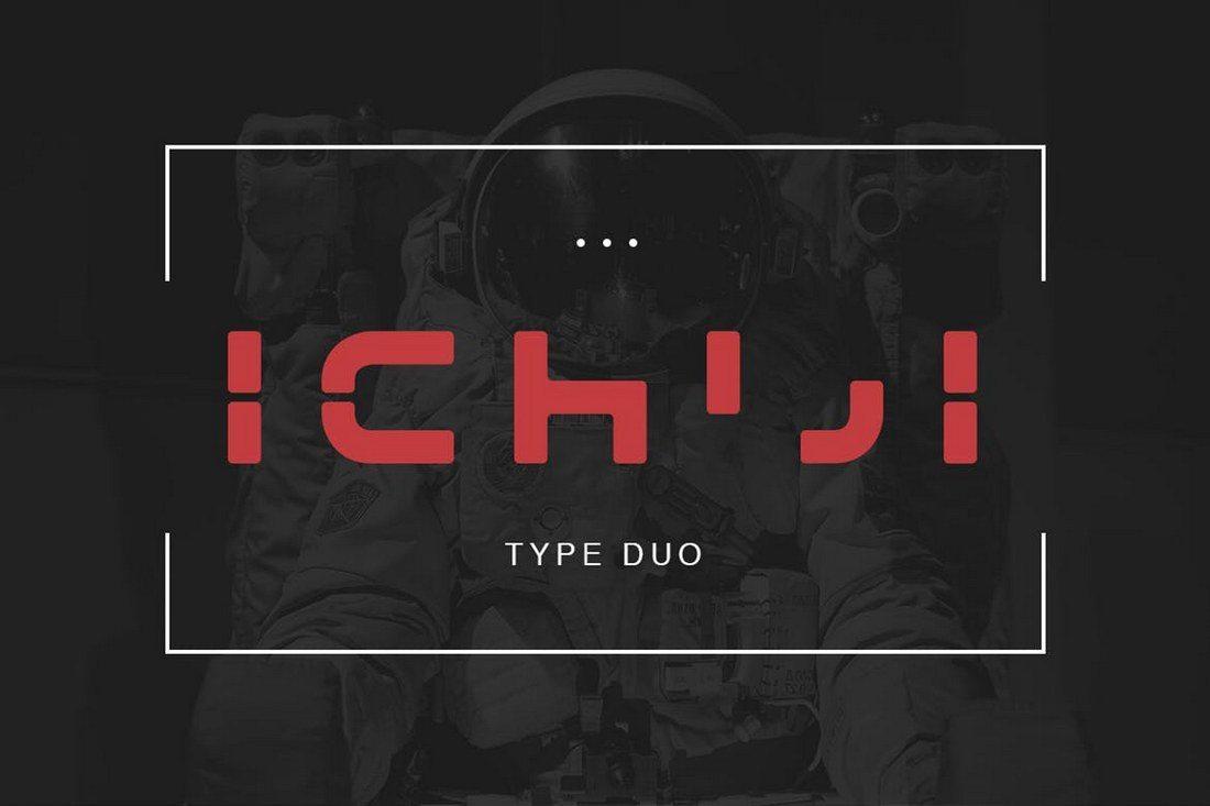 Ichiji-Type-1 30+ Best Modern & Futuristic Fonts 2021 design tips