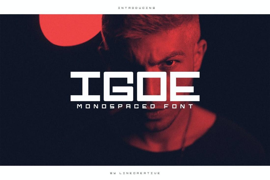 Igoe 10+ Professional Monospaced Fonts for Designers design tips