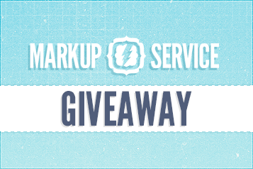 Giveaway: Win PSD to HTML Coding From Markup-Service