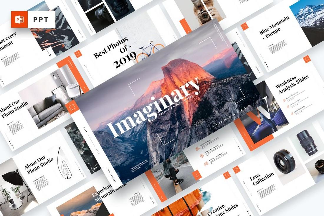 Imaginary - Portfolio PowerPoint Template