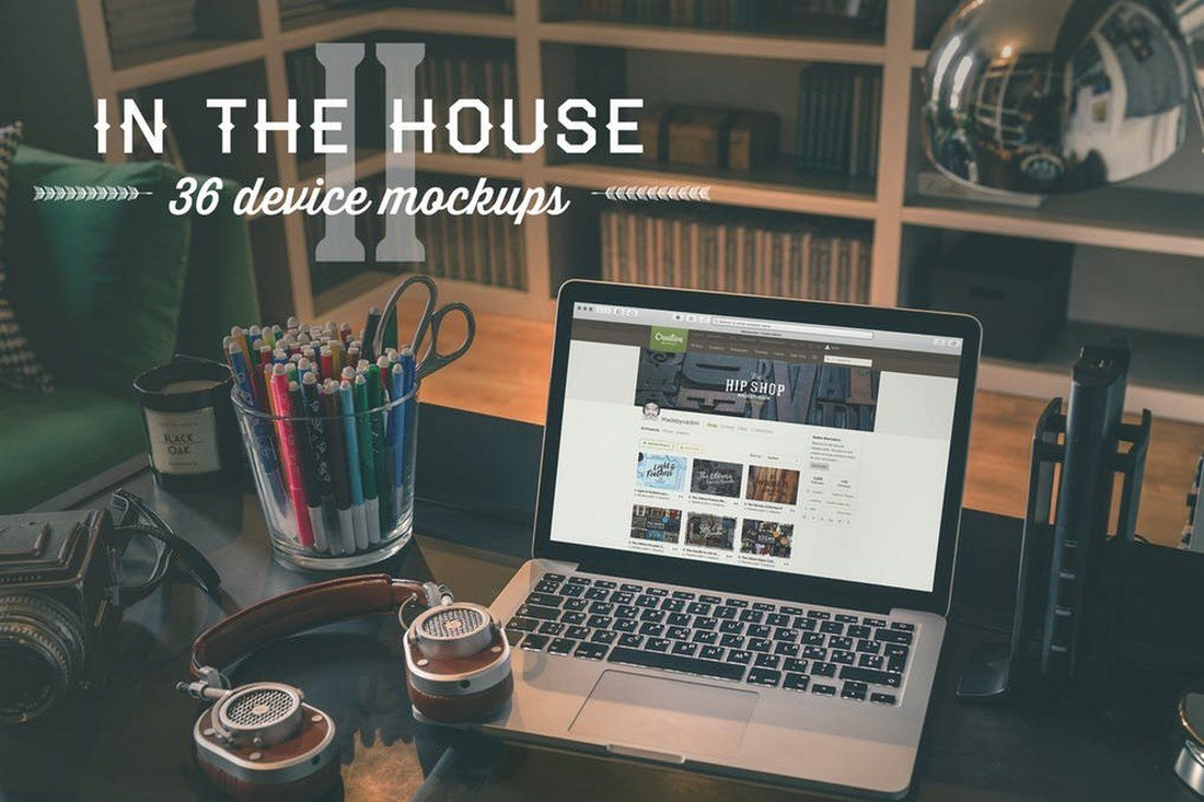 In-the-House-II-36-Device-Mockups 100+ MacBook Mockup Templates (PSD & Vector) design tips
