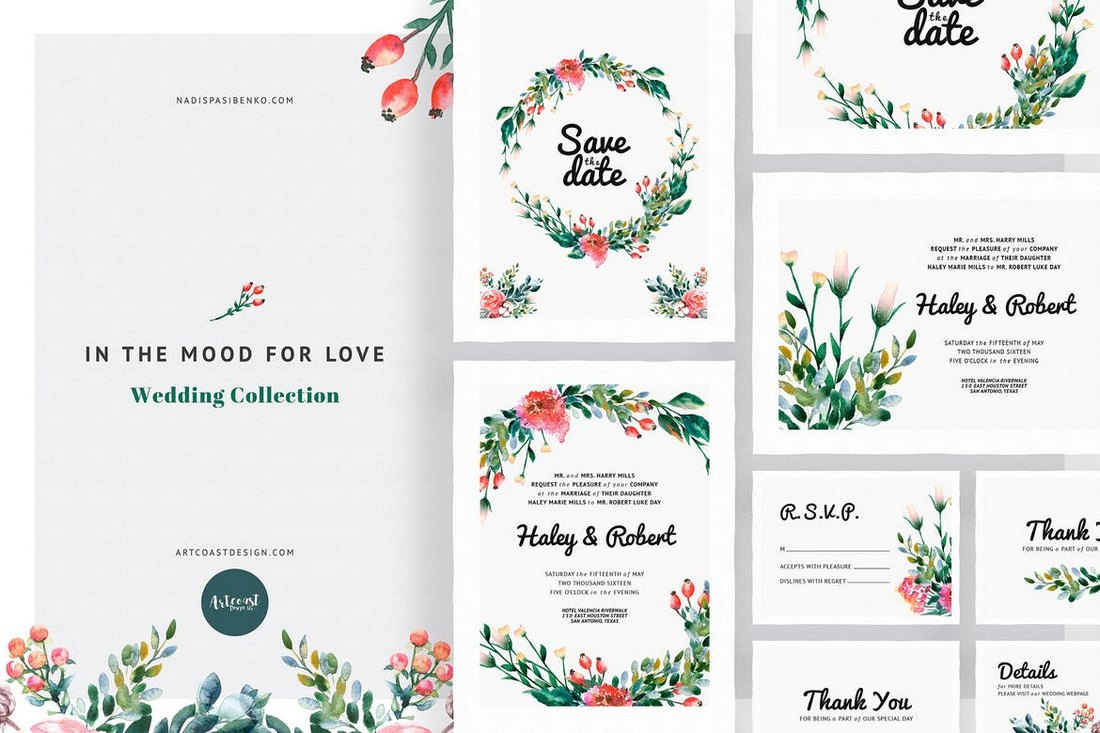 In-the-Mood-for-Love-Invitations-Templates 15+ Gorgeous Save the Date Wedding Templates design tips