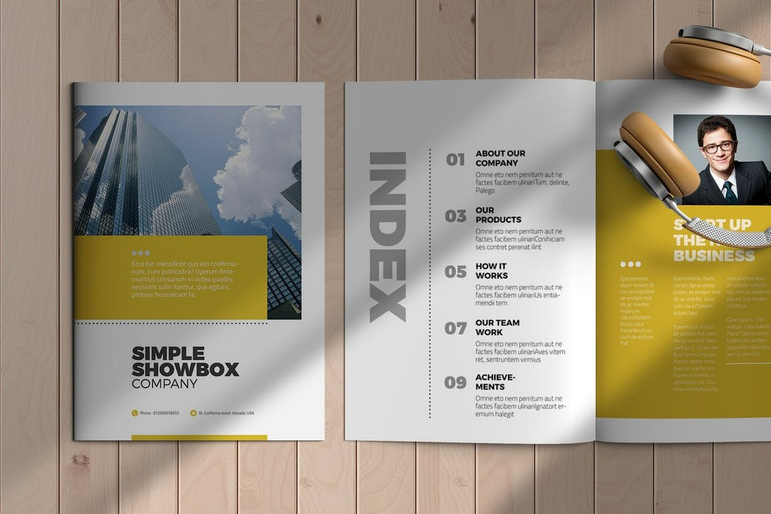 InDesign Business Brochure Template
